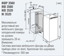 Холодильник Liebherr IKB 3560