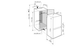 Встраиваемый холодильник с морозильной камерой, функциями BioFresh и SmartFrost Liebherr ICBSd 5122 Plus BioFresh