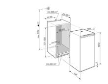 Встраиваемый холодильник с функцией BioFresh Liebherr IRBe 4851 Prime