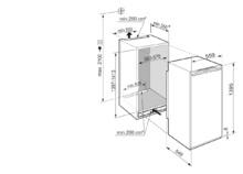 Встраиваемый холодильник с зоной свежести EasyFresh Liebherr IRe 4521 Plus