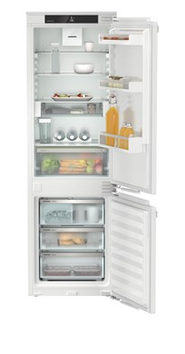 Встраиваемый холодильник с холодильной и морозильной камерами, зоной свежести EasyFresh и системой NoFrost Liebherr ICNe 5133 Plus