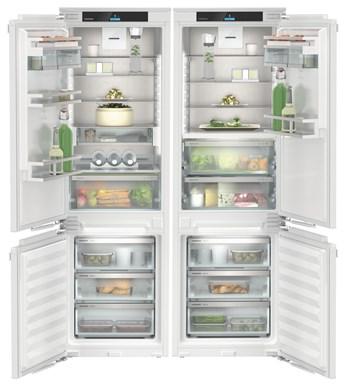 Встраиваемый холодильник Side-by-Side с зоной свежести BioFresh и системой NoFrost Liebherr IXCC 5165 Prime